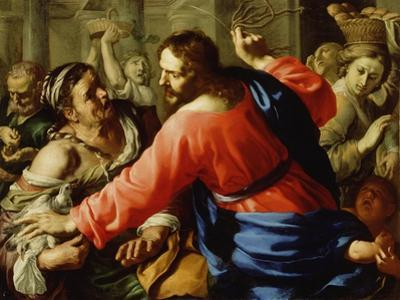 Christ Cleansing the Temple, c.1655 by Bernardino Mei