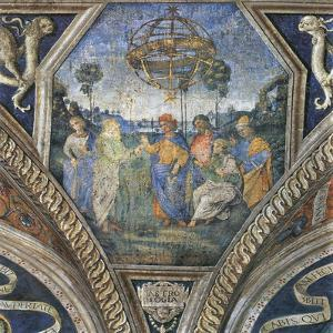 Allegory of Astrology, 1490S by Bernardino Pinturicchio
