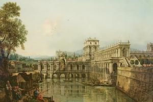 Architectural Capriccio, C.1765 by Bernardo Bellotto