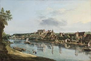 Pirna on the Elba, C.1756 by Bernardo Bellotto