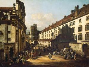 Vienna, Dominican Church, 1759-1760 by Bernardo Bellotto