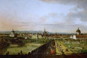 View of Vienna from the Belvedere, Between 1758 and 1761 by Bernardo Bellotto