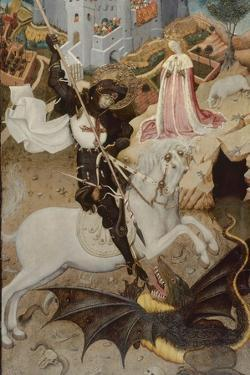 Saint George Killing the Dragon, 1434-35 by Bernardo Martorell