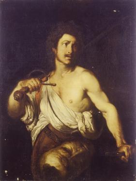 David with the Head of Goliath, C. 1635 by Bernardo Strozzi