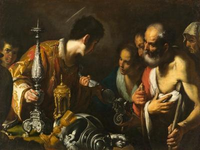 St. Lawrence Distributing the Treasures of the Church, c.1625