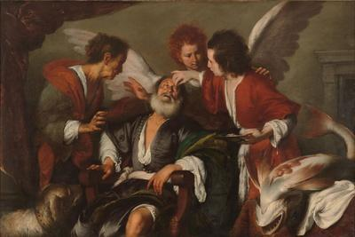 Tobias Curing His Father's Blindness, 1630-35