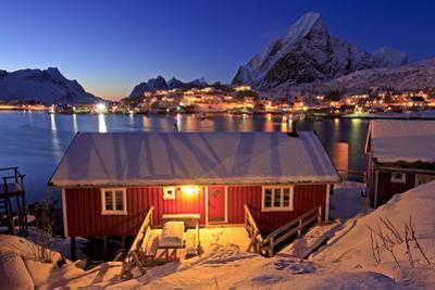 Norway, Lofoten, Moskenesoya, Pure Mountains by Bernd Rommelt