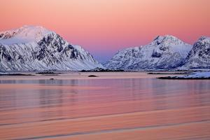 Norway, Province Northern Country, Beach Close Yttersand by Bernd Rommelt