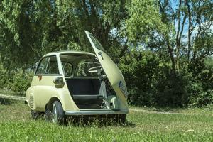Elsenfeld, Bavaria, Germany, Bmw Isetta, Model 1960, Cubic Capacity 250 Ccm, 12 Hp by Bernd Wittelsbach