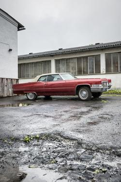Hachenburg, Hesse, Germany, Cadillac Deville Convertible, 1969 Model, Cubic Capacity 7.0 L by Bernd Wittelsbach