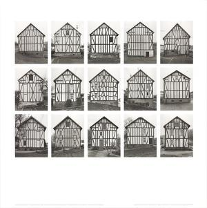 Half-Timbered Houses (no text) by Bernhard And Hilla Becher