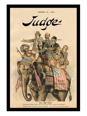Judge Magazine: His Own Boss
