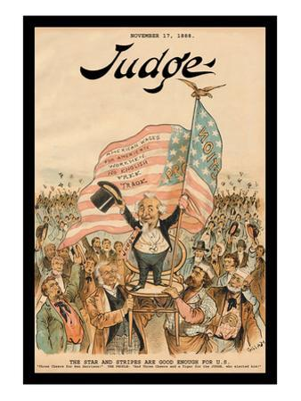 Judge Magazine: The Stars and Stripes Are Good Enough for U.S.