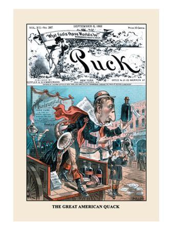 Puck Magazine: The Great American Quack