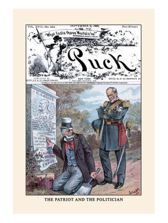 Puck Magazine: The Patriot and the Politician