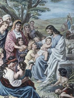 Christ and the Children by Bernhard Plockhorst