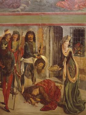Beheading of John He Baptist by Bernt Notke