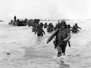 WWII Normandy Invasion by Bert Brandt