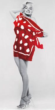 Marilyn at the Beach, 1953 by Bert Reisfeld