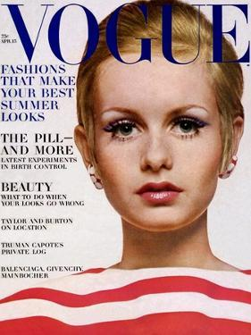 Vogue Cover - April 1967 by Bert Stern