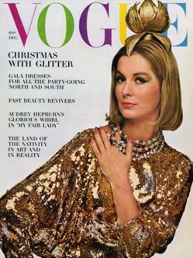 Vogue Cover - December 1963 by Bert Stern