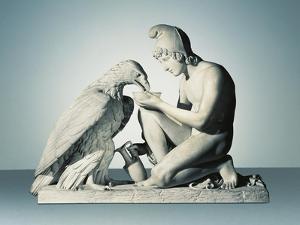 Ganymede with Eagle of Zeus by Bertel Thorvaldsen