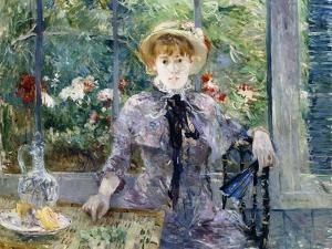 After Breakfast, 1881 by Berthe Morisot