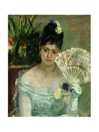 At the ball,1875 Canvas,62 x 52 cm. by Berthe Morisot