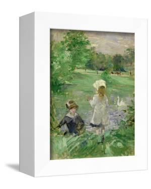 Beside a Lake, 1883 by Berthe Morisot