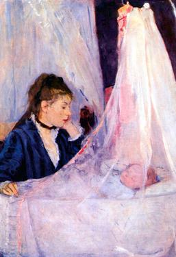 Berthe Morisot Cradle Art Print Poster