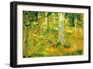 Forest by Berthe Morisot