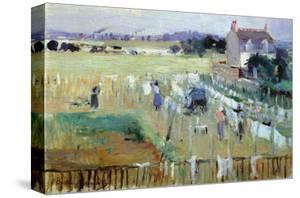 Laundry Day by Berthe Morisot