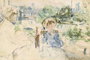 Le déjeuner à la campagne, 1879 by Berthe Morisot