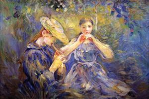 Little Flute Players by Berthe Morisot