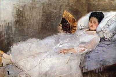 Madame Hubard by Berthe Morisot