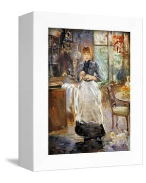 Morisot: Dining Room, 1886 by Berthe Morisot