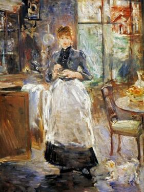 Morisot: Dining Room, 1886 by Berthe Morisot