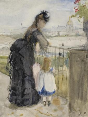 On the Balcony, 1871-72 by Berthe Morisot