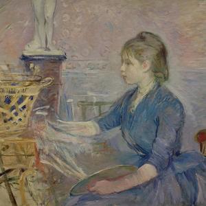 Paule Gobillard (1867-1946) Painting, 1887 by Berthe Morisot