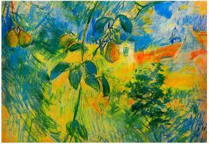 Berthe Morisot Pears Impressionist Art Print Poster