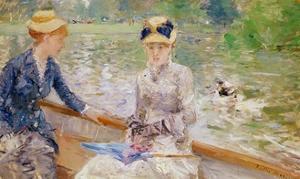 Summer's Day, 1879 by Berthe Morisot