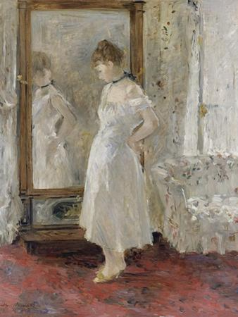 The Cheval Glass, 1876 by Berthe Morisot