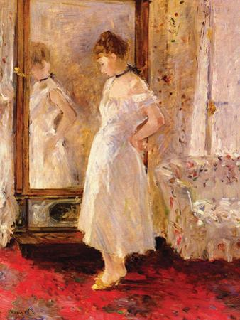 The Cheval Glass by Berthe Morisot
