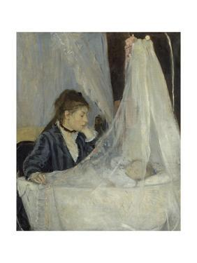 The Cradle, 1872 by Berthe Morisot