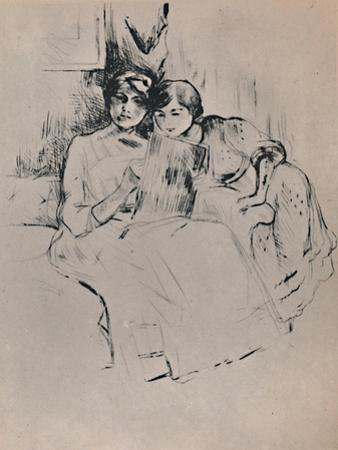 'The Drawing Lesson', c.1888-1890, (1946) by Berthe Morisot