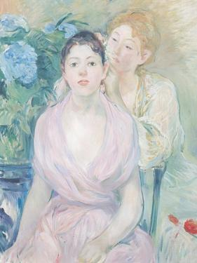 The Hortensia, or the Two Sisters, 1894 by Berthe Morisot