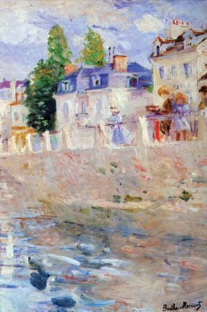 The Sky in Bougival by Berthe Morisot