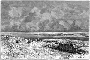 Nafta and the Shott-El-Jerid, C1890 by Bertrand
