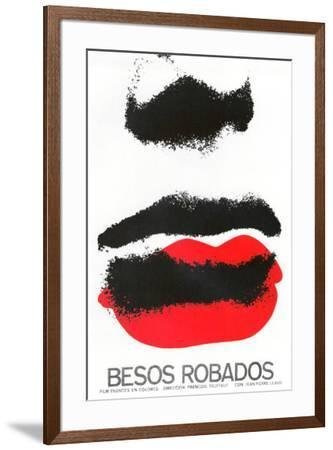 Besos Robados - Foreign Style--Framed Poster