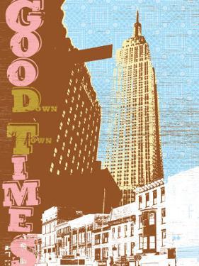 Good Times Down Town by Bessie Pease Gutmann